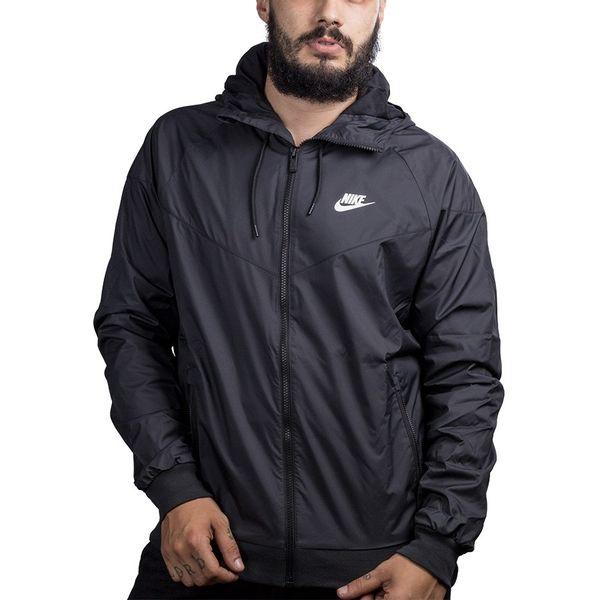 Jaqueta Nike Windrunner Masculina p black/black-white