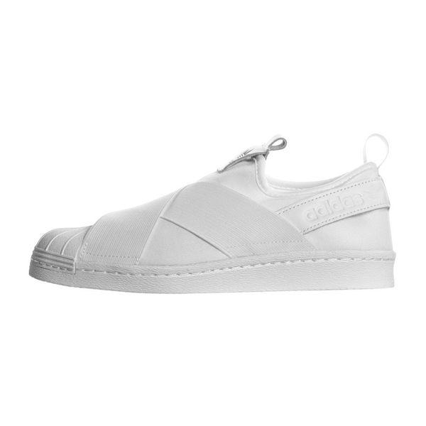 Tênis Adidas Superstar Slip On White ftwwht/ftwwht/cblack 38