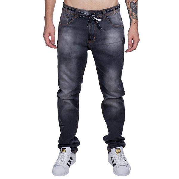 Calça Bali Hai Jeans Grafite Slim Masculina grafite 36