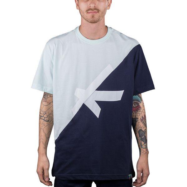 Camiseta Bali Hype Recorte Verde Água/marinho verde água/marinho gg