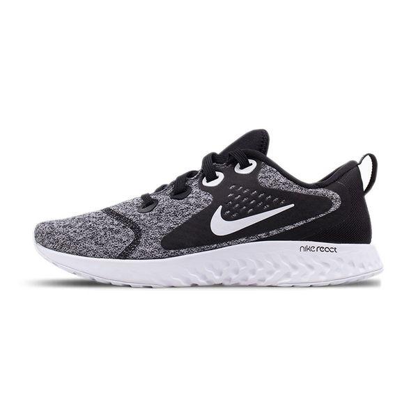 Tênis Nike Run React Feminino Black White 009-black/white 35