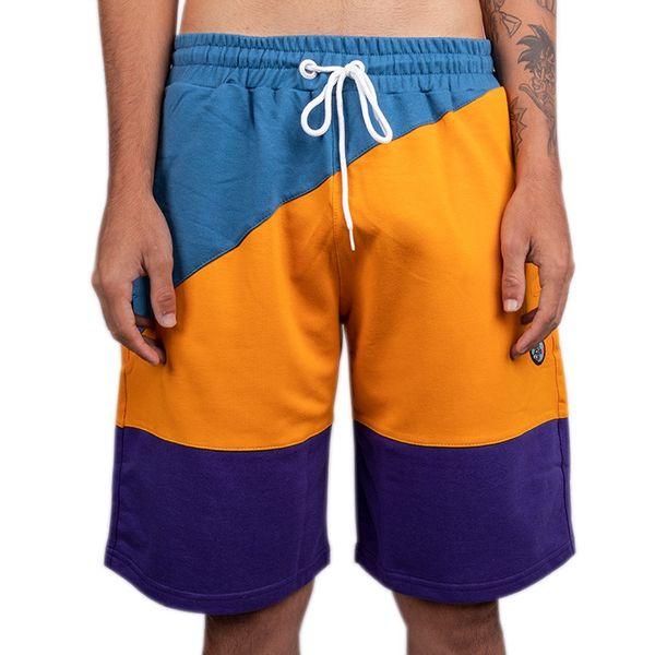 Bermuda Bali Hype Azul/laranja/roxo azul/laranja/roxo m