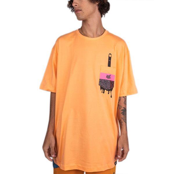 Camiseta Bali Hype Surprise Pocket laranja g