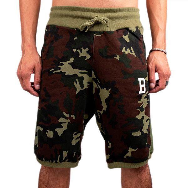 Bermuda Bali Hai Moletom College B Camo Militar camo/verde p