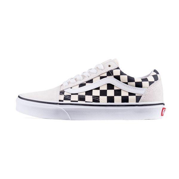 Tênis Vans Old Skool (checkerboard) White/black checkerboard 41