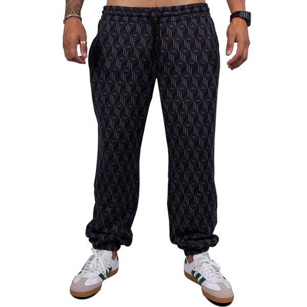 Calça Adidas Mono Aop black p