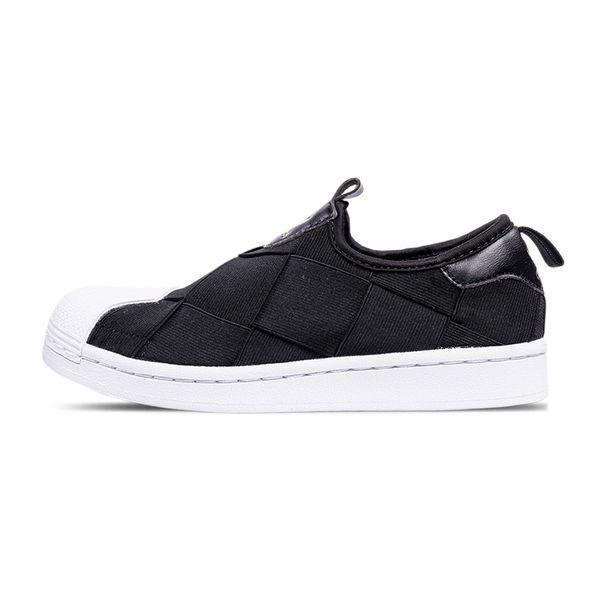 Tênis Adidas Superstar Slip-On Feminino black/white 36
