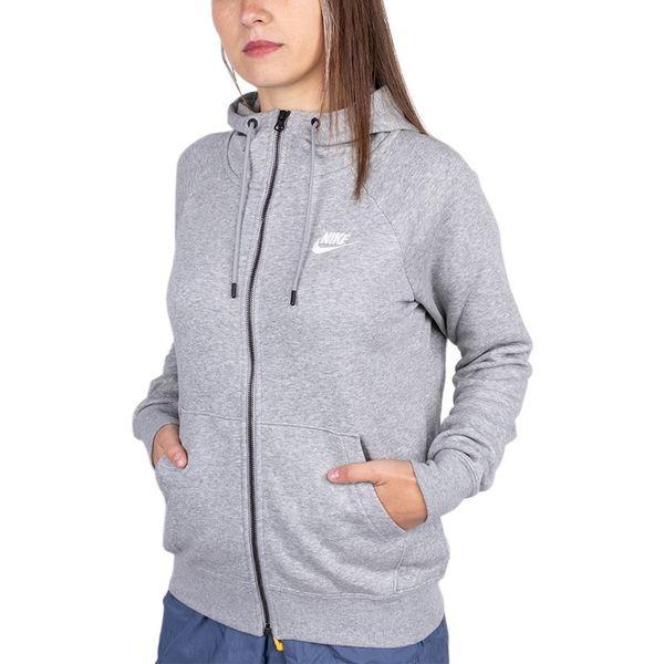 Moletom Nike Essential Hoodie Fleece 063 grey g