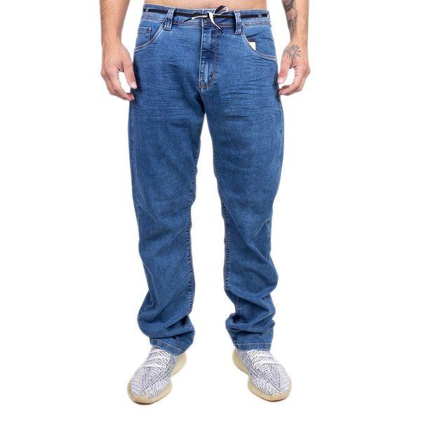 Calça Jeans Bali Hai Azul Escuro Chanfrado azul 40