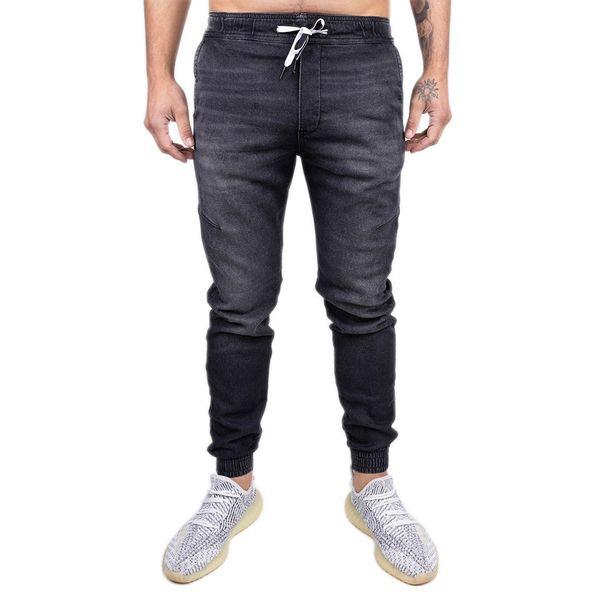 Calça Bali Hai Jogger Jeans Preto preto 36