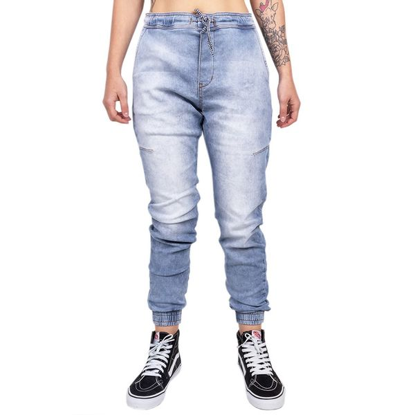 Calça Bali Hai Jogger Jeans Claro jeans claro 40