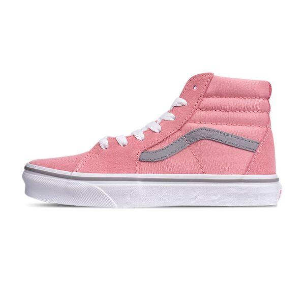 Tênis Vans Sk8-Hi Pop Pink Icing Frost Gray pink icing frost gray 28