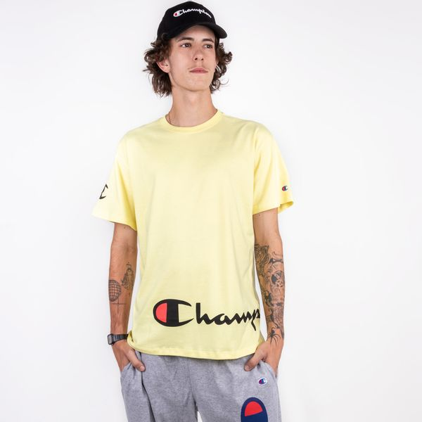 Camiseta-Champion-Around-Script-Ink-Amarelo-0890420085257_1