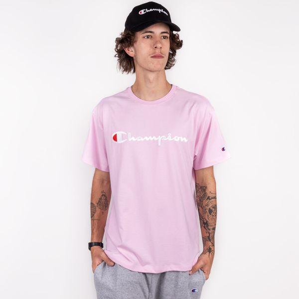 Camiseta-Champion-Embroidery-Trad-Pink-0890420084960_1