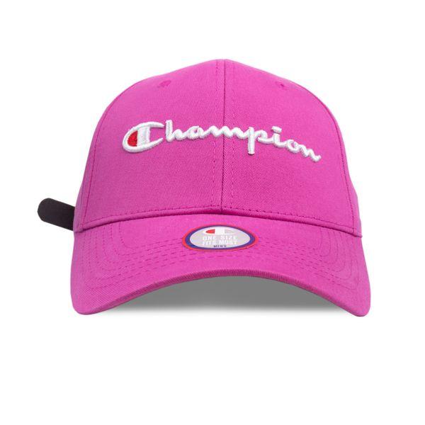 Bone-Champion-Classic-Twill-Hat-Script-Pink-0890420074640_1