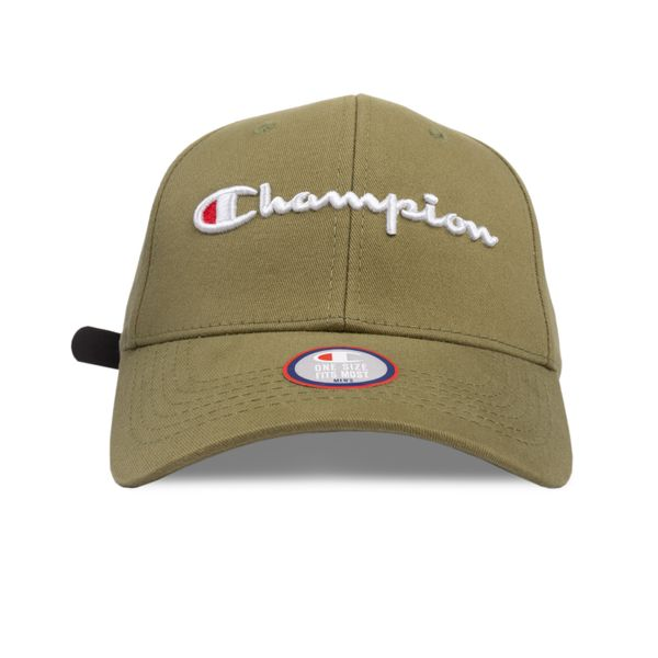 Bone-Champion-Classic-Twill-Hat-Script-Verde-Militar-0890420074688_1